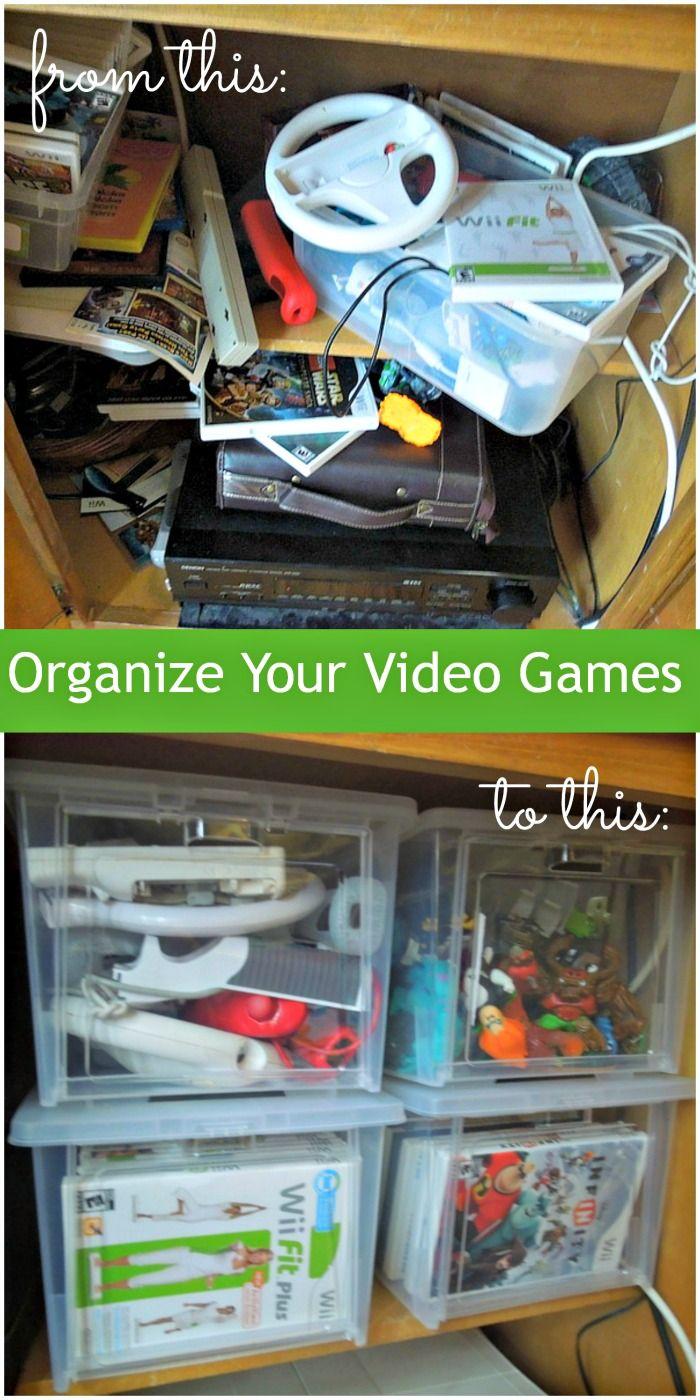 Video Game Organization
