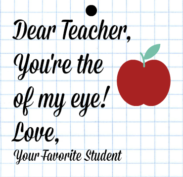 Apple of My Eye Teacher Printable-1