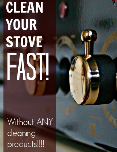Clean Your Stove Fast by Mums Make List