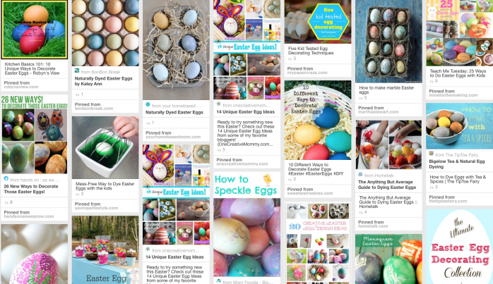 Eggcellent Ideas for Easter Eggs