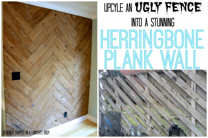 Herringbone-Wall