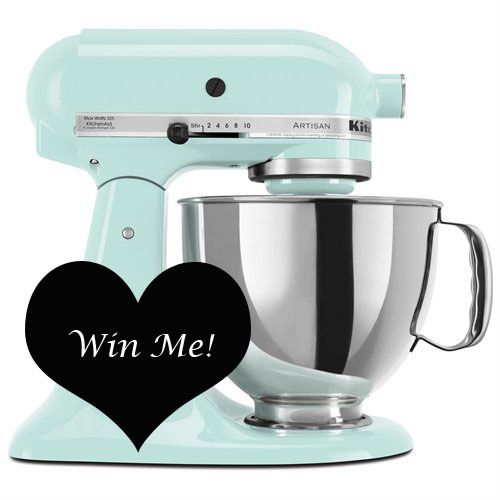 Win a KitchenAid Mixer! #giveaway #mixergiveaway #kitchenaid