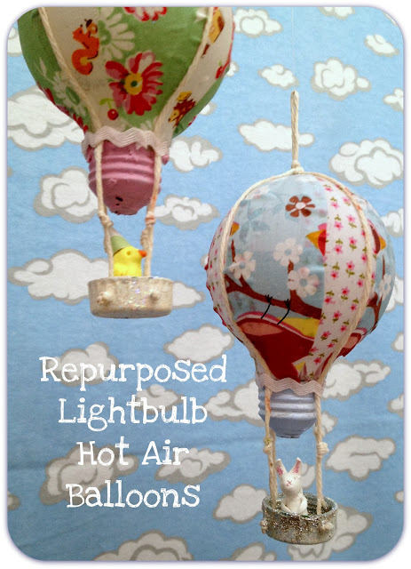Light Bulb Hot Air Balloon