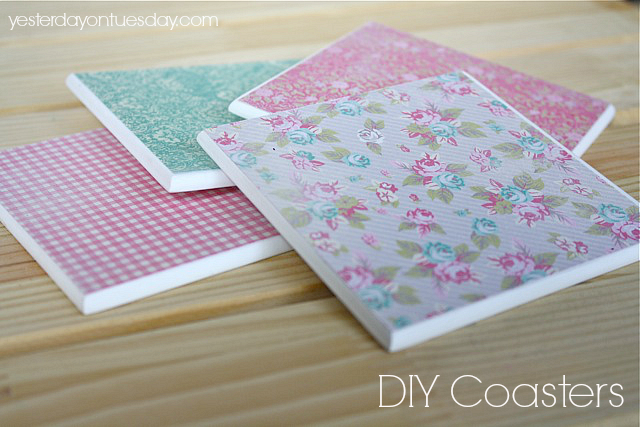 DIY Coasters #coasters #diycoasters #diygifts