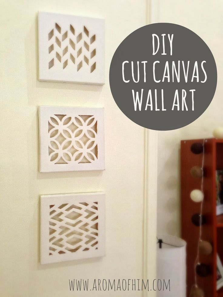 diy cut canvas wall 736 981 craft ideas pinterest