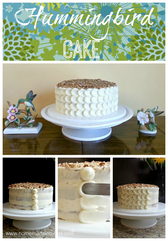 Hummingbird Cake by Home.Made.Interest