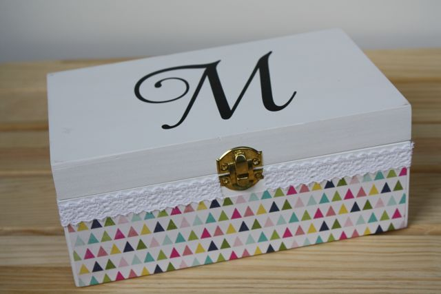 Monogrammed Jewelry Box Yesterday On Tuesday