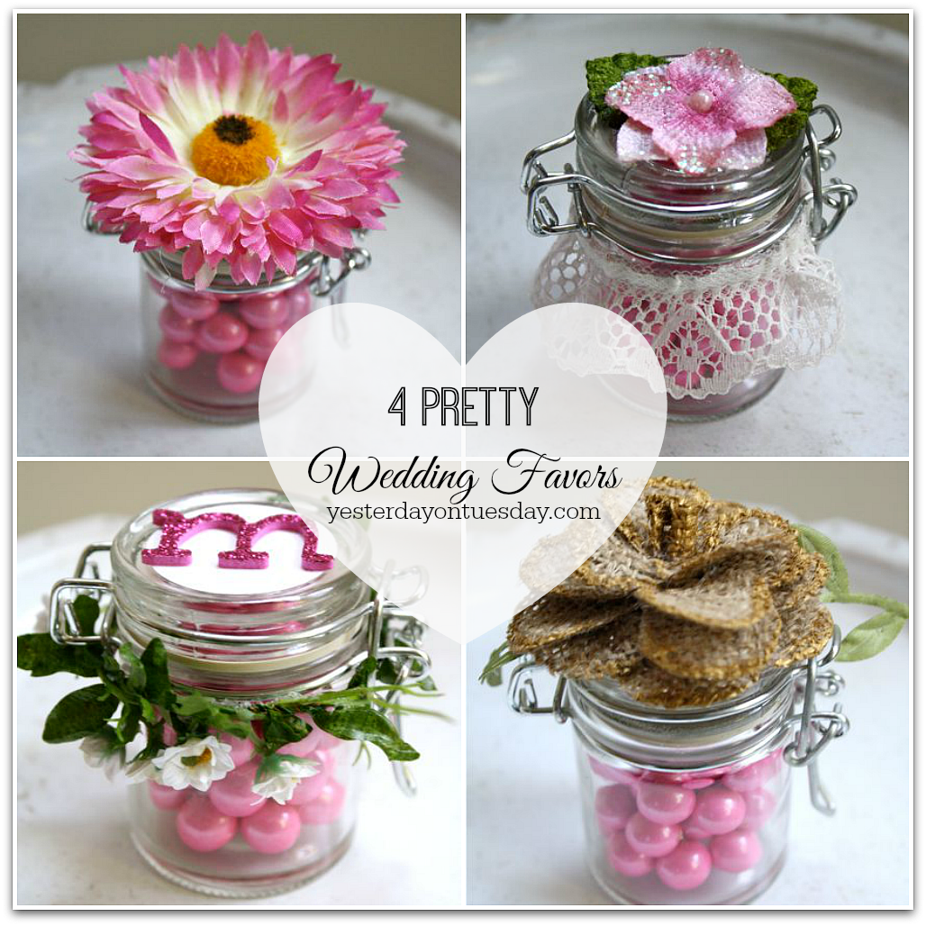 Wedding Favors: Four Pretty Wedding Favors