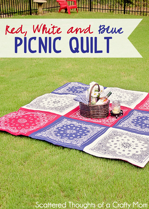 Bandana Quilt by Scattered Thoughts of a Crafty Mom