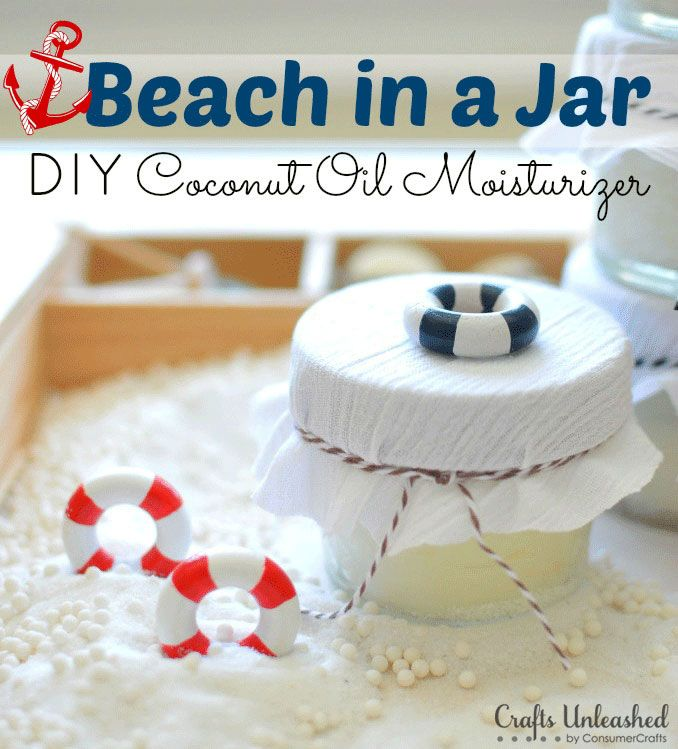 Beach in a Jar by Crafts Unleashed