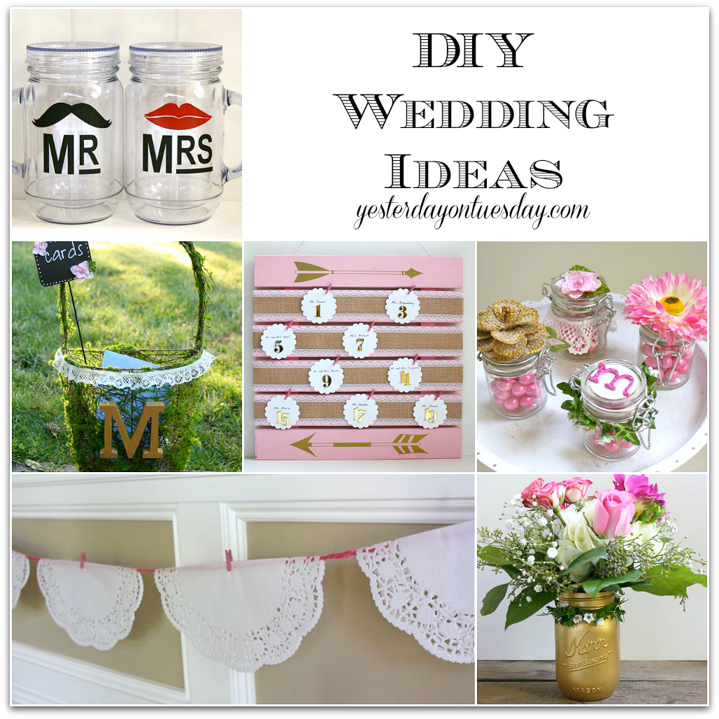 Wedding Reception Decorations Ideas Diy : Wedding Ideas you can make