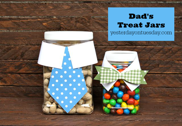 DIY Treat Jars for Dad