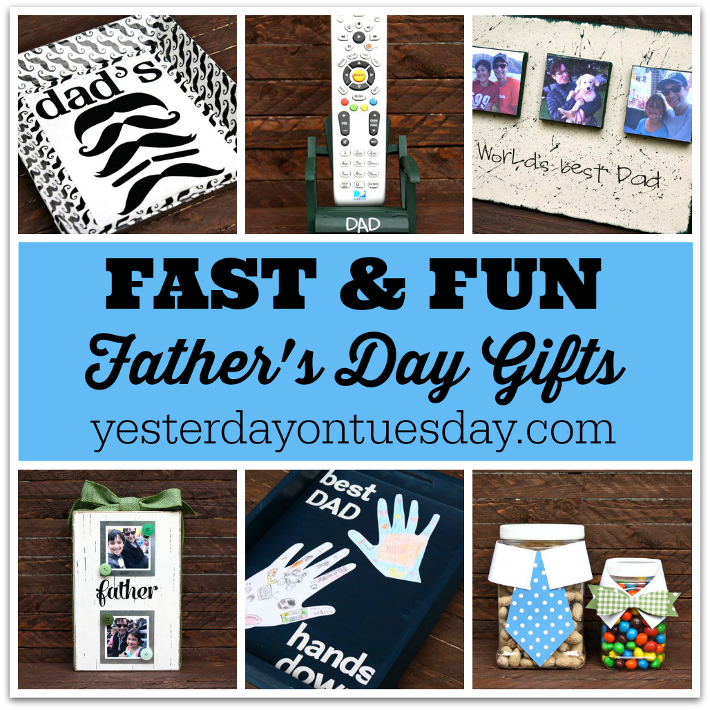 Fast and Fun Father's Day Gifts