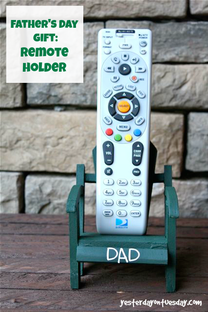 DIY Remote Holder