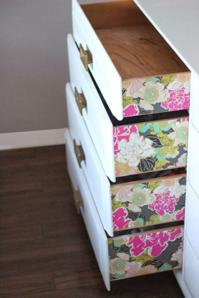 Floral Drawers