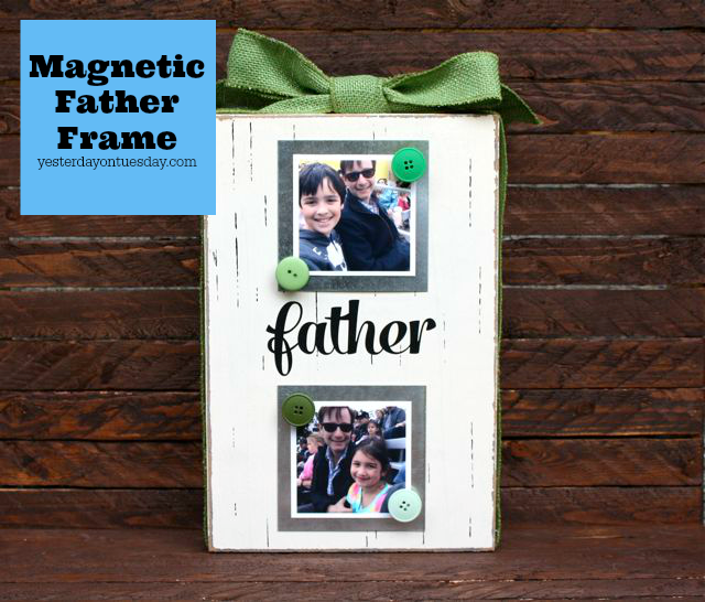 DIY Magnetic Photo Frame
