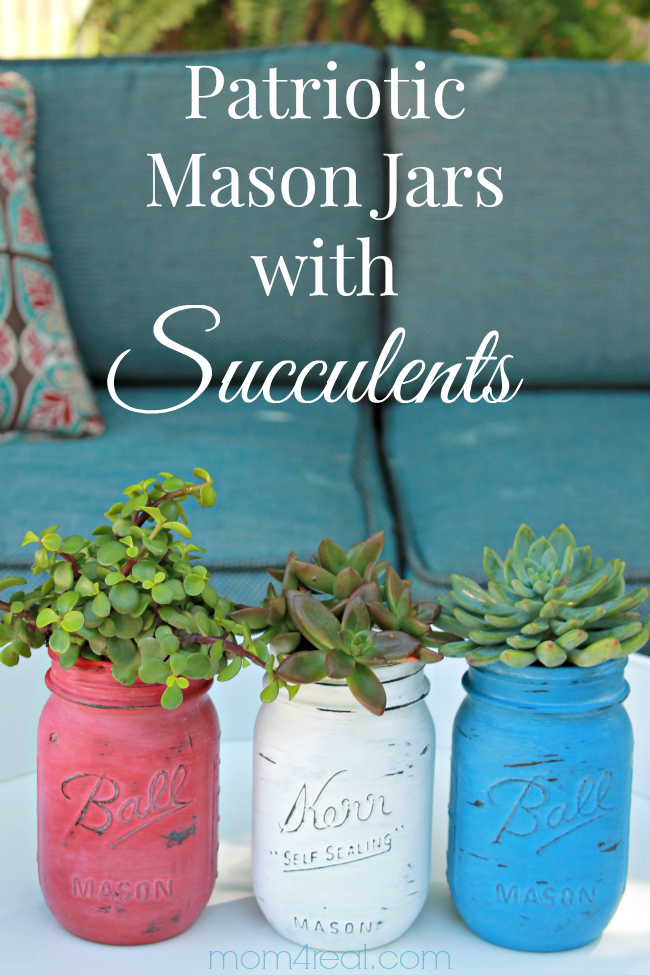 Patriotic-Mason-Jars-with-Succulents2