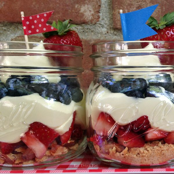 Red White and Blue Trifles