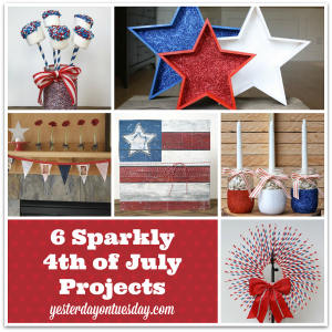 Sparkly 4th of July Decor