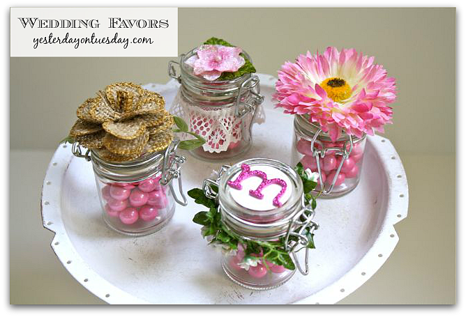 Four Pretty Wedding Favors