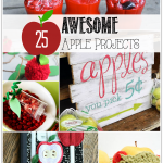 A collection of amazing Apple Crafts #apples #applecrafts