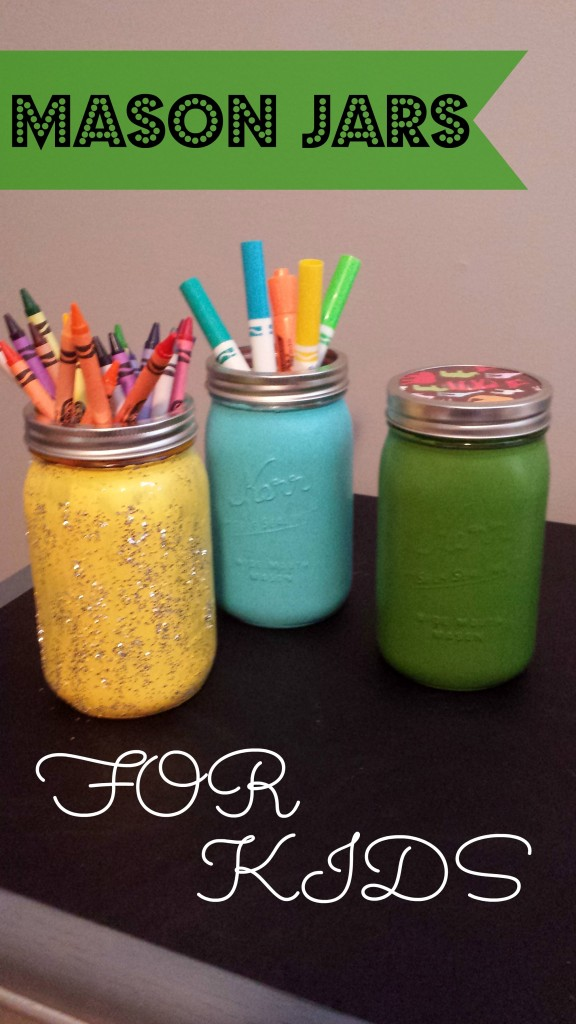 Mason Jars for Kids by Pink Oatmeal