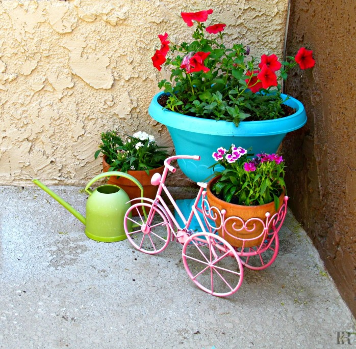 Spray Painted Planter