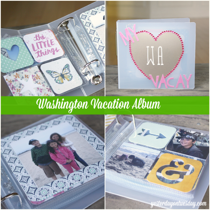 DIY Mini Vacation Album