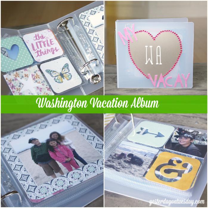 DIY Mini Vacation Album