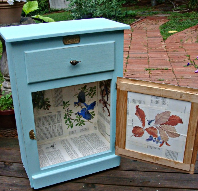 Cabinet Upcycle by Red Tin Inn