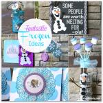 Frozen Craft Ideas #Frozen