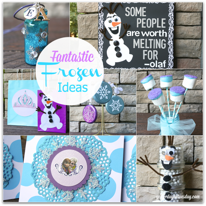 Frozen Craft Ideas #Frozen #Olaf