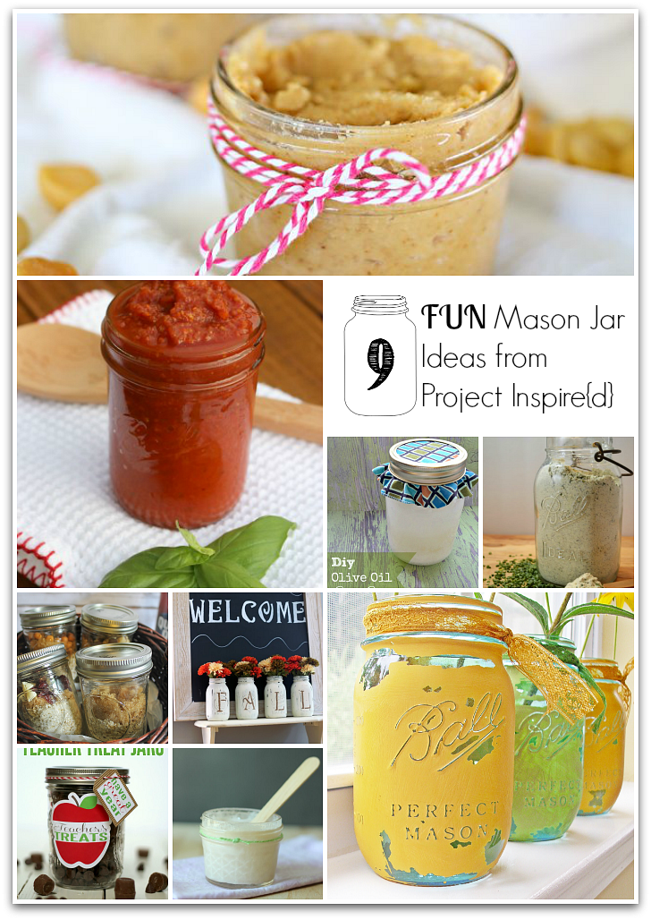 Project Inspire{d} Features: Mason Jar Ideas