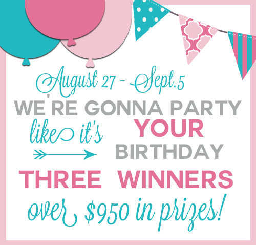 MEGA Birthday Giveaway with $950