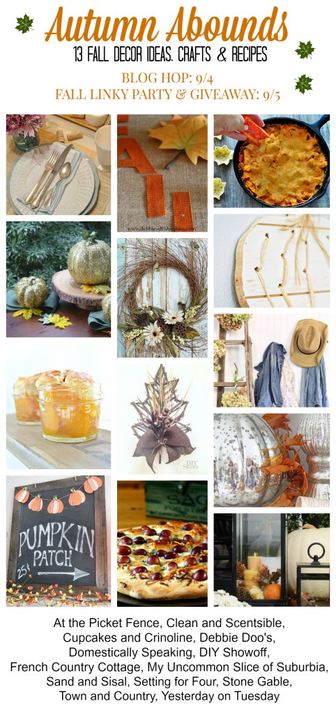 The Autumn Abounds Fall Blog Hop