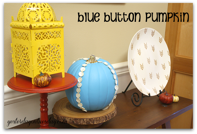 Faux Pumpkin Idea