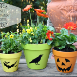 Fall Flower Pots