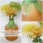 DIY Recycled Pumpkin Vase