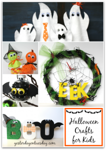 Kid's Halloween Crafts