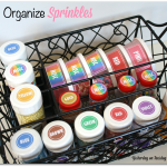 Tips for Organizing Sprinkles