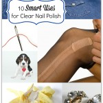 Uses for Clear Nail Polish