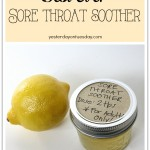 Home Sore Throat Remedy
