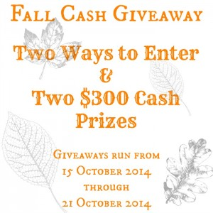 Win a $300 Cash Prize
