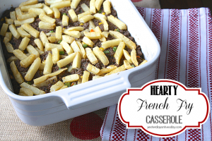 French Fry Casserole Dinner