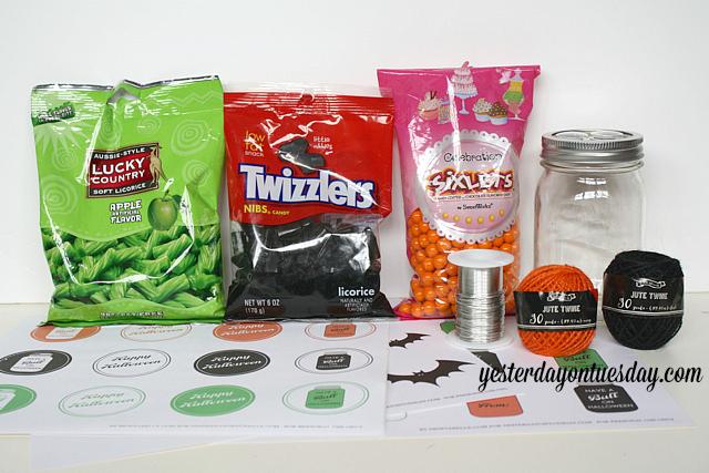 Mason Jar Creatures Supplies