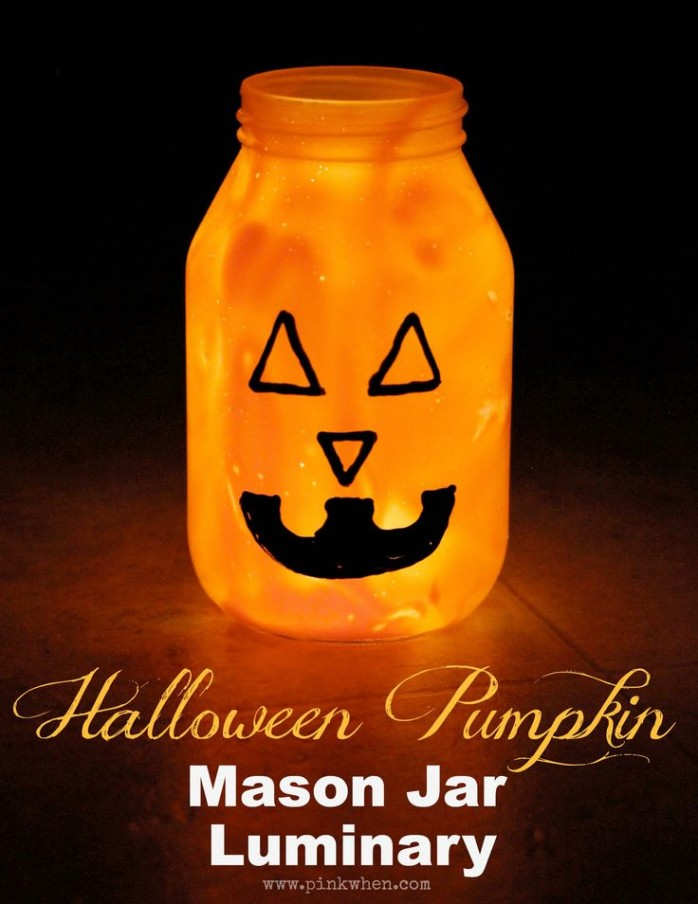 Mason Jar Luminary