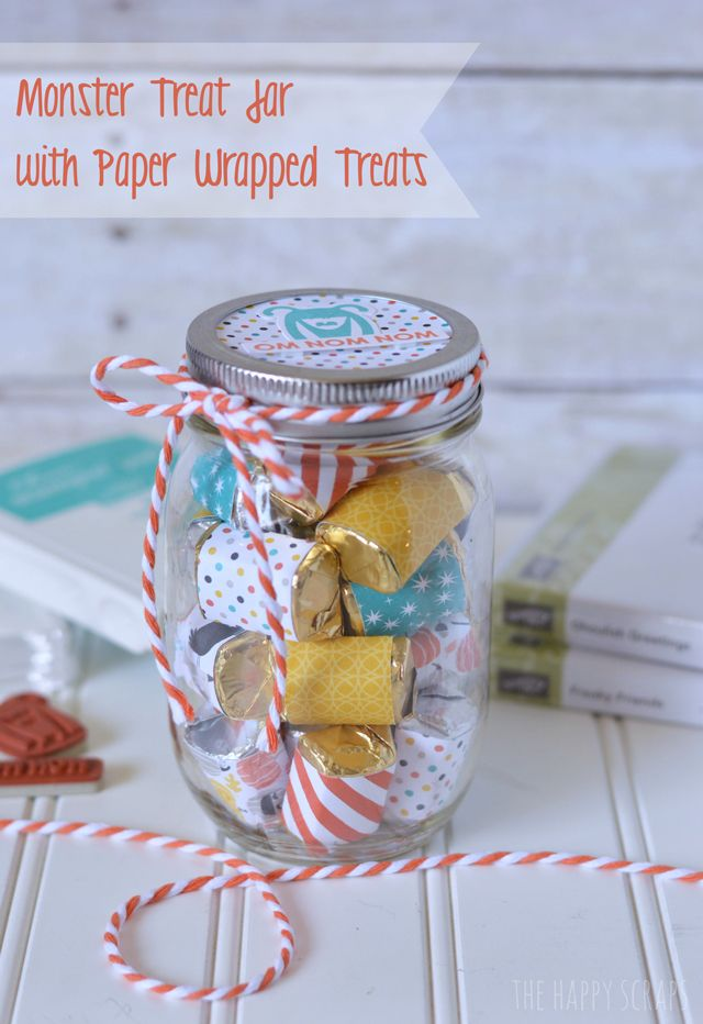 Monster Treat Jar
