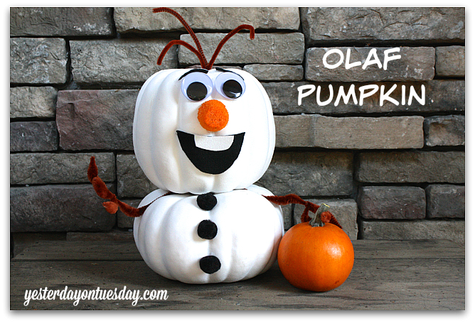 6 Cool No Carve Pumpkin Ideas & 6 Cool No Carve Pumpkin Ideas | Yesterday On Tuesday
