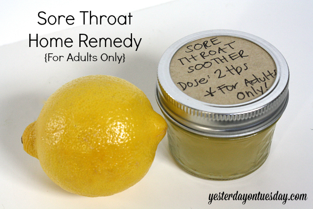 The Best Sore Throat Soother | Yesterday On Tuesday