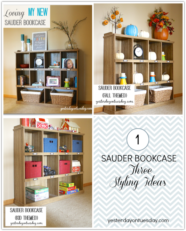 A Few Months Ago, I Had The Opportunity To Order A Piece Of Sauder Furniture,  Put It Together And Style It For My Home.